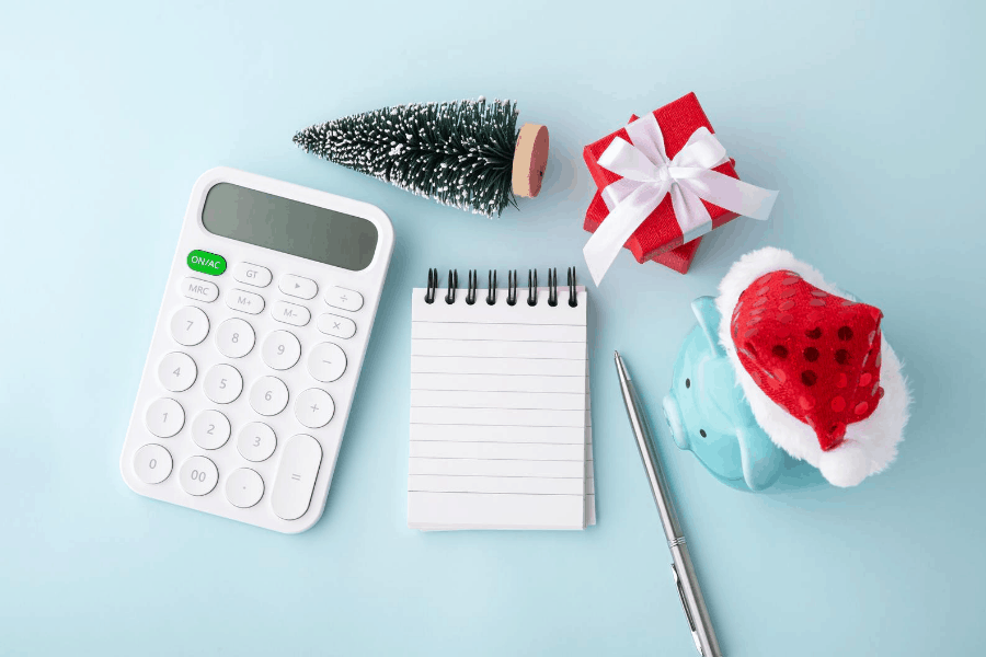planning a christmas budget