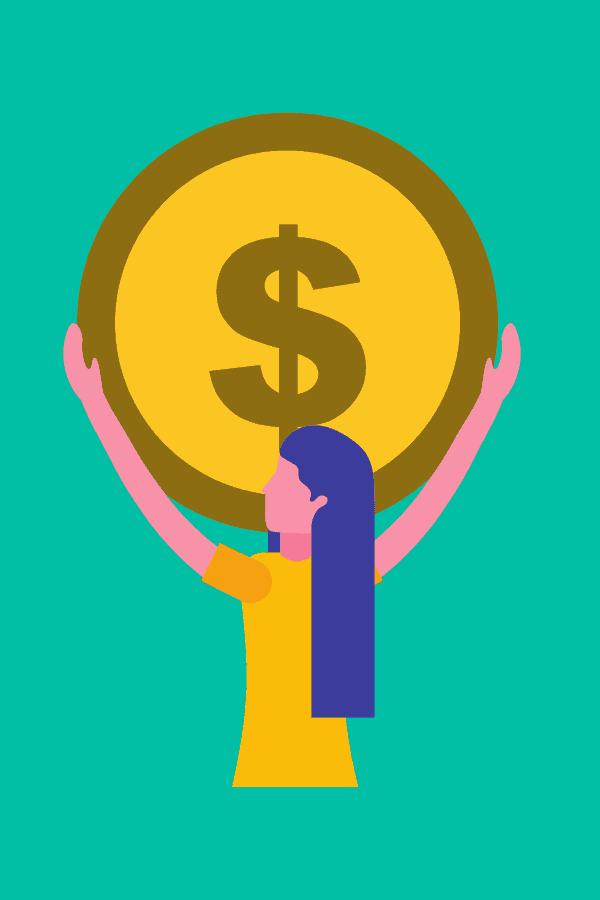 woman starting a side hustle