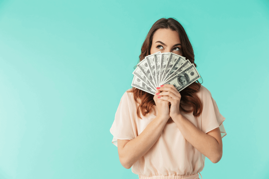 woman who needs money right now