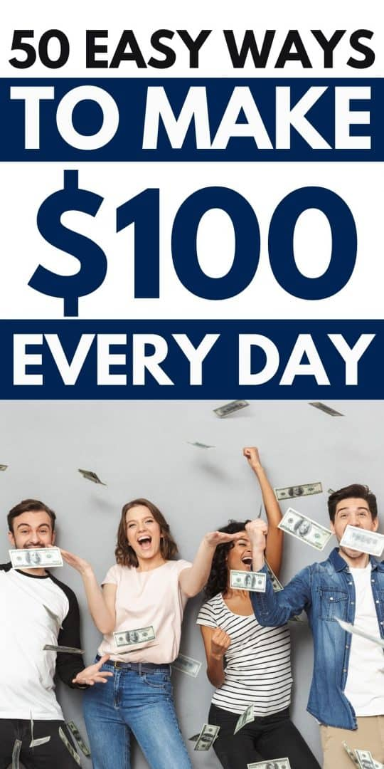 how to make 100 dollars a day