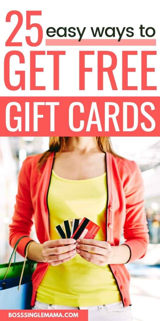 earn gift cards for free