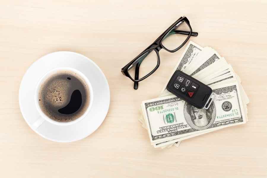 car keys and cash