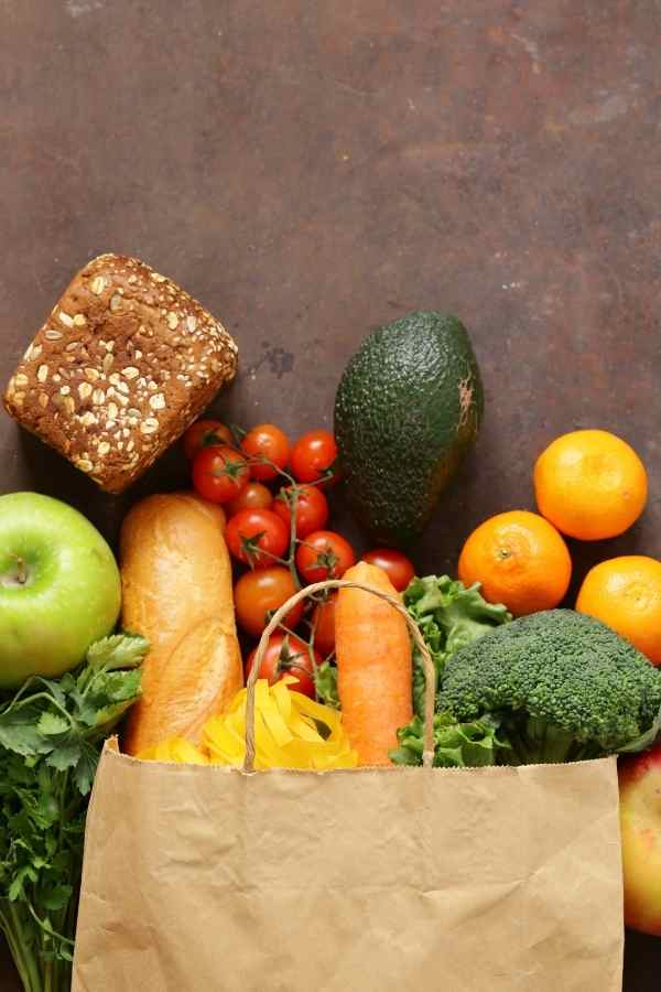 cheap groceries list