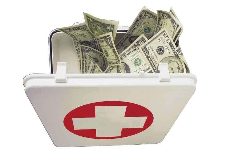 emergency cash box