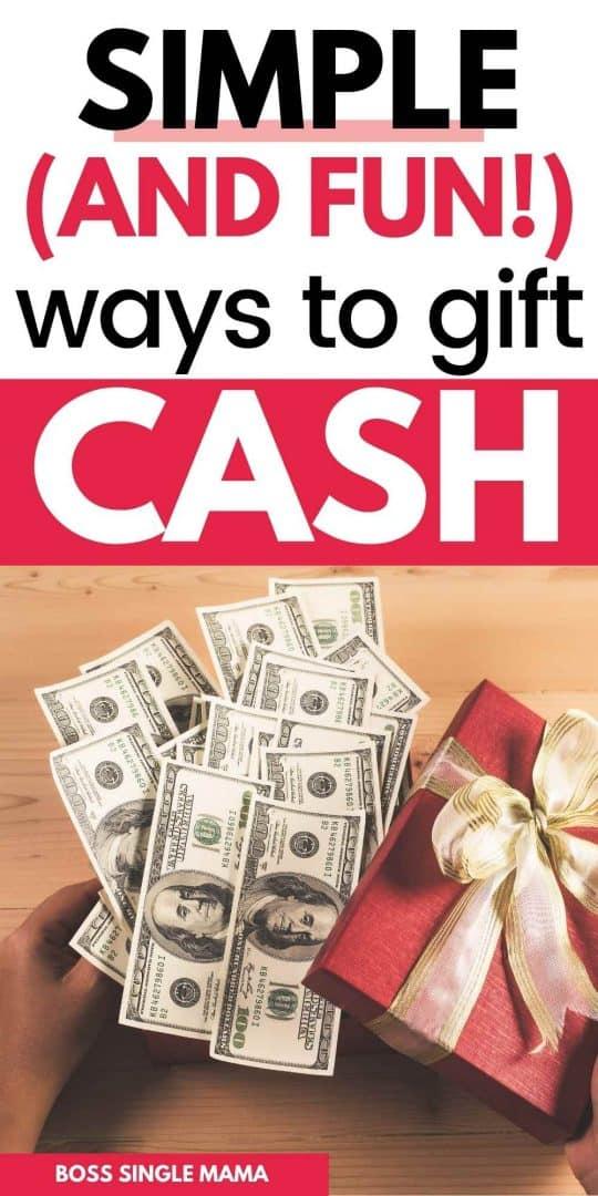 best money gift ideas